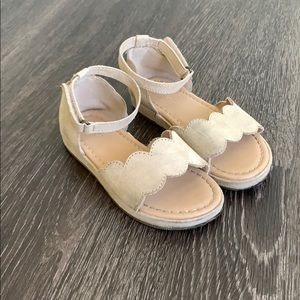 Old navy girls heeled sandals size toddler 10